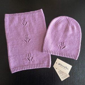 """Связано на заказ: Весенний вязаный комплект """"Гиацинт"""" от @olchik.knits"""